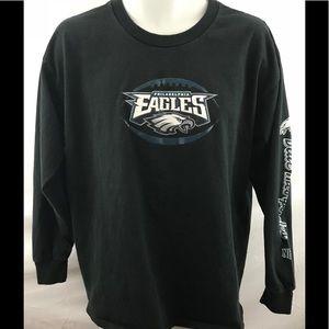 Philadelphia Eagles Shirt men's size Lg graphic